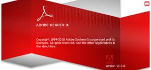 办公必备的PDF阅读器-Adobe Reader X简体中文版